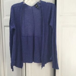 Eileen Fisher blue sweater